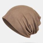 Оригинал              Тонкая шапочка Шапка Однотонная сетчатая дышащая повязка на шарфе для волос Многофункциональная