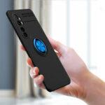 Оригинал              Bakeey для Xiaomi Mi Note 10 Lite Чехол Вращающийся на 360º держатель магнитного кольца Soft Силиконовый Противоударный защитный Чехол