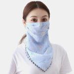 Оригинал              Riding Face Маска Летняя печать Шея Солнцезащитный шарф Маска Дышащий Быстросохнущий