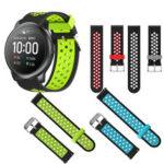 Оригинал              Bakeey 22mm Универсальные часы Стандарты Двухцветный ремешок для часов Haylou Солнечная/Huawei Часы GT / Часы Xiaomi Color / BW-HL3 BW-AT1 / Amazfit GTR 47MM
