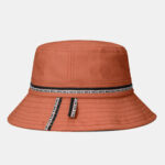 Оригинал              COLLROWN Хлопковая крышка для ведра Shade Big Brim Solid Color Fisherman Шапка