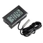 Оригинал              1 метр Термометр Электронный цифровой Дисплей FY10 Встроенный Термометр Внутренний и На открытом воздухе Измерение температуры