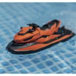 Оригинал              SMRC M5 2.4G Электрический RC Лодка Двухместный Мотор РТР Модель корабля Модель