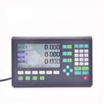 Оригинал              Новейшие токарные станки Machifit DRO Набор LCD 2/3 Axis AC 220V Решетка Фрезерный станок с ЧПУ Цифровой дисплей для считывания и 2 шт. 1 м линейный Шкала Л