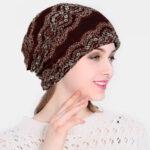 Оригинал              Кружевная шапочка Шапка Шапка для химиотерапии Шейный платок Шапка