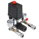 Оригинал              220V Воздушный компрессор Реле давления Клапан управления Коллектор Регуляторы