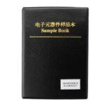 Оригинал              170 значений X 50 шт. = 8500 шт. 0805 1% 0R-10M Ом SMD резистор Набор RC0805 FR-07 Серия Образец книги Образец Набор