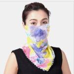 Оригинал              Быстросохнущий Лето На открытом воздухе Дышащая езда Маска Печать Шея Protector Солнцезащитный шарф Маска