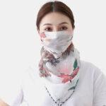 Оригинал              Летняя быстросохнущая печать Шея Маска Солнцезащитный шарф На открытом воздухе Riding Face Маска Дышащий