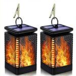 Оригинал              Светодиодный фонарь Солнечная Танцующее пламя Водонепроницаемы На открытом воздухе Фонарь подвесной Сад