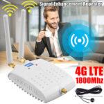 Оригинал              1800 МГц GSM Сигнал Booster Международный LTE 4G WiFi Router Сигнал Усилитель Повторитель для мобильного телефона Беспроводной Wifi Маршрутизатор усилени