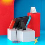 Оригинал              Baseus 18 Вт USB C Зарядное Устройство Игровой Консоли USB Зарядное Устройство Регулируемая Зарядка Док-Станция Для Nintendo Switch / Switch Lite