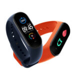 Оригинал              [Кислород крови Монитор] Оригинал Xiaomi Mi группа 5 AMOLED браслет AI Voice Assistant Фитнес трекер Smart Watch Global Version