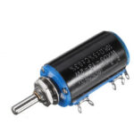 Оригинал              WXD3-13-2W Прецизионный потенциометр 10KΩ 10K Ohm Многооборотный потенциометр с проволочной обмоткой