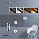 Оригинал              Dimmable LED Дистанционный Этаж Лампа Свет Постоянный Чтение Домашнего Офиса Стол Стол