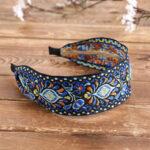 Оригинал              Повязка на голову с богемной вышивкой этническая набивная ткань с набивным рисунком Пляжный Праздничные головные уборы