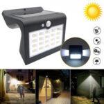 Оригинал              Водонепроницаемый LED Солнечная Свет PIR Motion Датчик На открытом воздухе Сад Улица Уолл Лампа