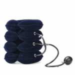 Оригинал              4-слойный надувной шейный Шея поддержки облегчение боли расслабиться шейный воротник скобка