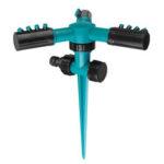 Оригинал              Сад Спринклер 360 ° Вращающийся регулируемый 3 Arms Газон Садовая система полива