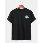 Оригинал              Мужские хлопковые футболки Wrold Wildlife Day с повседневным принтом