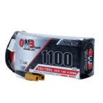 Оригинал              Gaoneng GNB 7,6 В 1100 мАч 50C 2S Lipo Батарея XT30 Разъем для RC Racing Дрон
