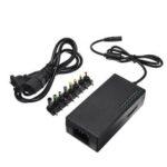 Оригинал              96W 12V-24V Регулируемый выходной блок питания Адаптер переменного тока DC зарядное устройство с 8 советами Коннектор ЕС Plug
