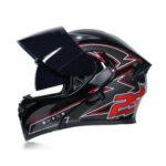Оригинал              JIEKAI ABS защита от ударов в полнолицевом положении Объектив мужчины и Женское мотоцикл шлем скутера