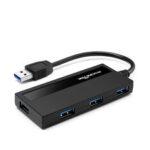 Оригинал              Rocketek USB 3.0 концентратор 4-портовый адаптер сплиттер Интерфейс питания для портативных ПК