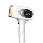 Оригинал              999999 Мигает 9 уровней LCD Постоянный эпилятор IPL 7c㎡ Лазер Безболезненная система удаления Волосы для Женское и мужчин