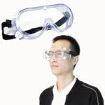 Оригинал              Прозрачные противотуманные ветрозащитные защитные очки для защиты глаз лаборатории безопасности труда На открытом воздухе Очки
