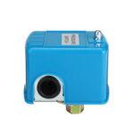 Оригинал              40-60 PSI Water Насос Переключатель контроля давления Двойная пружинная опора Синяя крышка