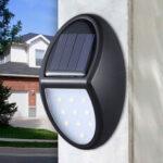 Оригинал              10LED Солнечная Мощность настенного светильника Водонепроницаемы На открытом воздухе Сад Двор Лампа Pathway