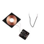 Оригинал              5V 0.6A 3W Qi Стандартная беспроводная зарядка DIY Катушка Приемник Модуль Печатная плата Беспроводная зарядная катушка для смартфона