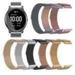 Оригинал              Bakeey 22mm Универсальные часы Стандарты Магнитный ремешок для часов для Haylou Солнечная/Huawei Часы GT / Часы Xiaomi Color / BW-HL3 BW-AT1 / Amazfit GTR 47MM