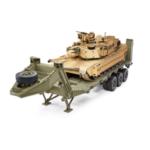 Оригинал              HG P806 TRASPED 1/12 Тяжелый полуприцеп DIY Набор для США Модель M747 RC