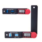 Оригинал              180 мм 0-200 ° Многофункциональный LCD Дисплей Цифровой Угловой Искатель Уровень Инструмент Угловая Линейка Инклинометр Электронный Гониометр