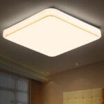 Оригинал              AC85V-265V 12W 24W Квадратный LED Люстры потолочные скрытого монтажа Лампа для дома Гостиная