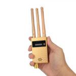 Оригинал              Беспроводной детектор сигналов Детектор мобильных телефонов камера Детектор Ошибка радиосигнала GPS GMS Finder Tracker Scanner