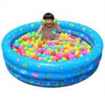 Оригинал              Надувной Плавательный Бассейн Круглый Ocean Ball Детский Бассейн Детские Детские Надутые Ванны для На открытом воздухе Двор Сад Family