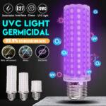 Оригинал              5 Вт 10 Вт 12 Вт 250 нм E27 LED УФ-лампа накаливания УФ-бактерицидный Лампа Стерилизовать Дезинфекция Домашний свет 110-220В