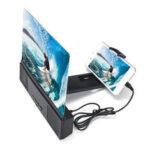 Оригинал              Bakeey L2 12 дюймов 3D экран телефона лупа фильм видео экран Усилитель с бас-динамик Bluetooth для iPhone для Samsung Huawei Xiaomi