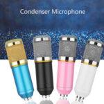 Оригинал              BM800 Studio Condenser Микрофон Deskt Pro Микрофон для записи звука