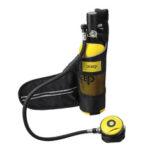 Оригинал              DIDEEP Quick Dry Crossbody Сумка Воздухопроницаемый чехол для хранения Сумка Хранение для 1л акваланга