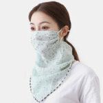 Оригинал              Солнцезащитный шарф Маска Дышащий Быстросохнущий Лето На открытом воздухе Верховая езда Маска Печать Шея