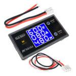 Оригинал              5шт Цифровой DC 0-100В 0-10А 250Вт Тестер DC7-12В LCD Цифровой Дисплей Ток напряжения Измеритель мощности Вольтметр Амперметр Ампер Детектор Geekcreit для