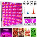 Оригинал              1200 Вт LED Grow Light Панель Выращивание Лампа Гидропоника Крытый Цветок Вег Блум Освещение AC85-265V
