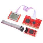 Оригинал              Планшет PCI Материнская плата анализатор Диагностический тестер Post Test Card для ПК Портативный компьютер PTI8 Сеть Набор