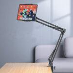 Оригинал              Bakeey Desktop Кровать Стол Кухонный Гибкий Ленивый Длинный Рука Растягиваемый Держатель Телефона Планшет Стенд 360 Градусов Вращения Для 4.0-12.9 Дю