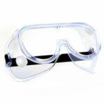 Оригинал              Прозрачные защитные очки Регулируемая химическая защита от брызг Устойчивость Полностью закрытая защитная маска Анти-туман Anti-Dust