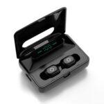 Оригинал              Bakeey H60 Dual Dynamic Bluetooth 5.0 TWS Наушник LED Цифровой Дисплей Стерео Бас Спортивные наушники с зарядкой Чехол